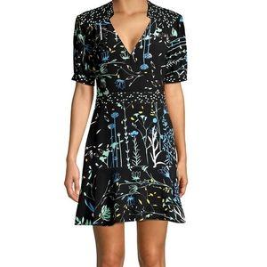 NWT Parker Talisa Woodlands Floral A-Line Dress 0